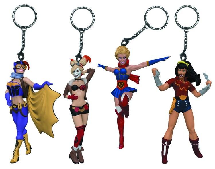 DC Bombshells Batgirl Keychain