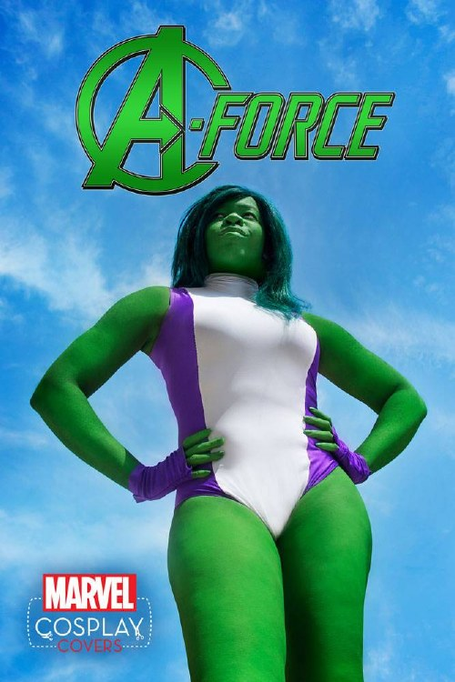 A-Force #1 Cosplay Var