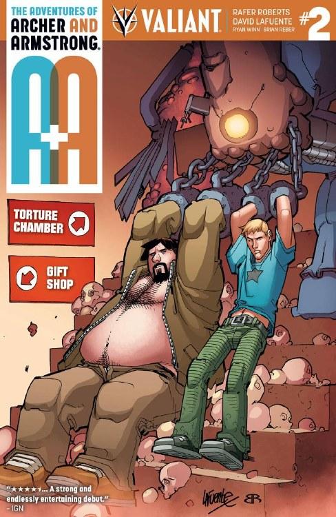 A&A #2 Cover A Lafuente