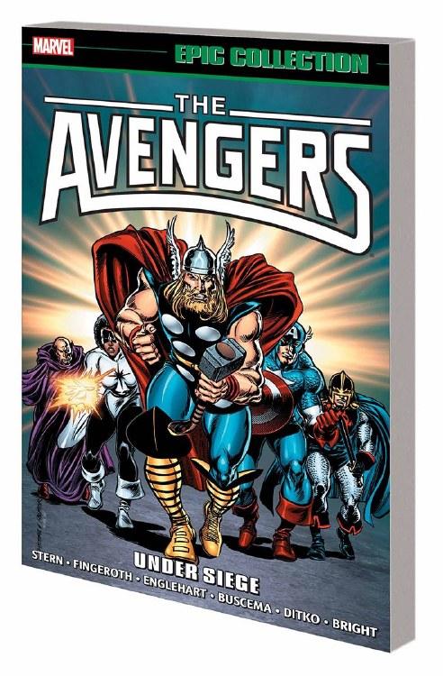 Avengers Epic Collection TP Under Siege