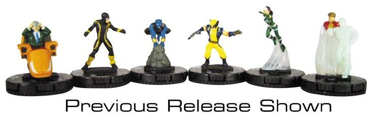 Marvel Heroclix Uncanny X-Men Fast Forces 6 Pk