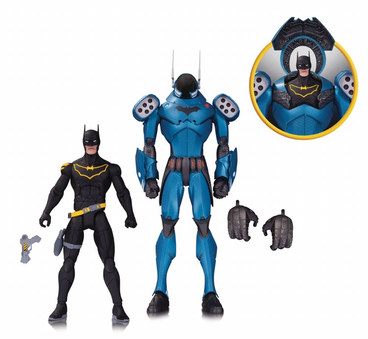 DC Designer Series Capullo Batman Action Figure 2 Pack