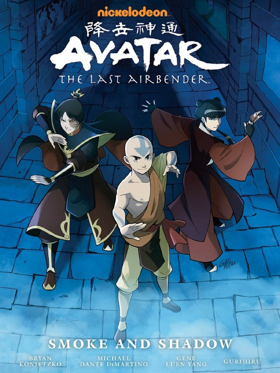 Avatar Last Airbender Smoke and Shadow Library Ed HC