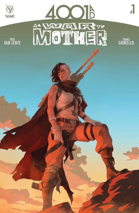 4001 Ad War Mother #1 Cover B Kevic-Djurdjevic