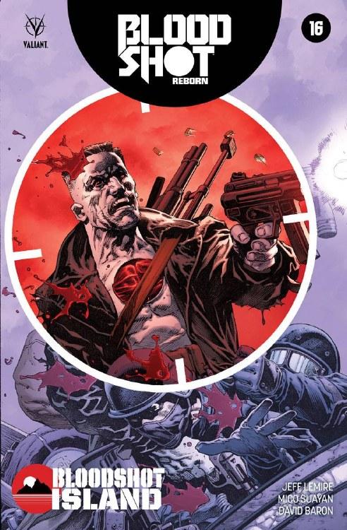 Bloodshot Reborn #16 Cover A Giorello