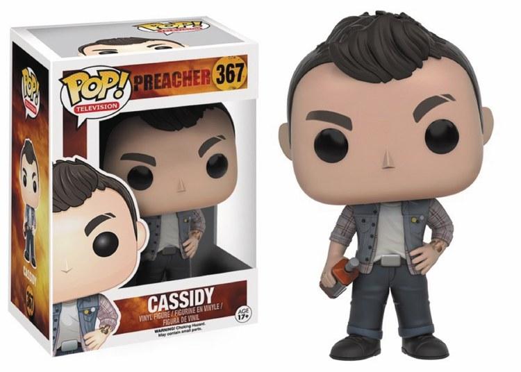 Pop TV AMC Preacher Cassidy Vinyl Figure