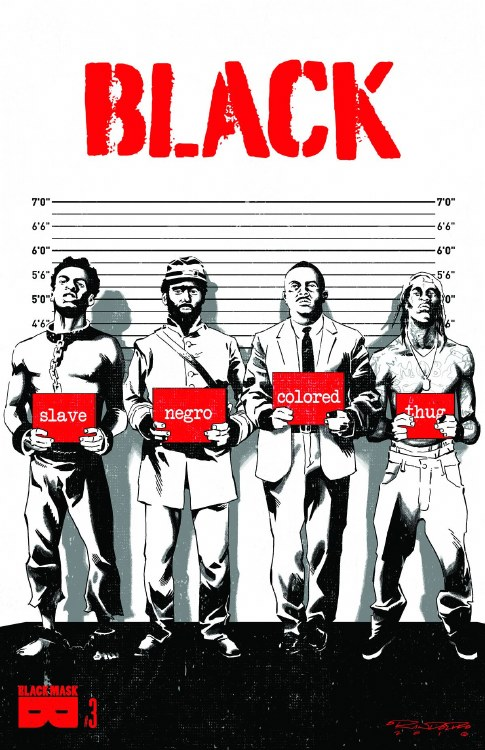 Black #3 (of 6) Censored Cover (Mr)
