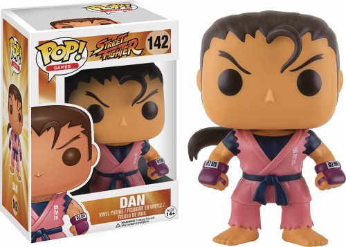 Pop Street Fighter Dan Vinyl Figure