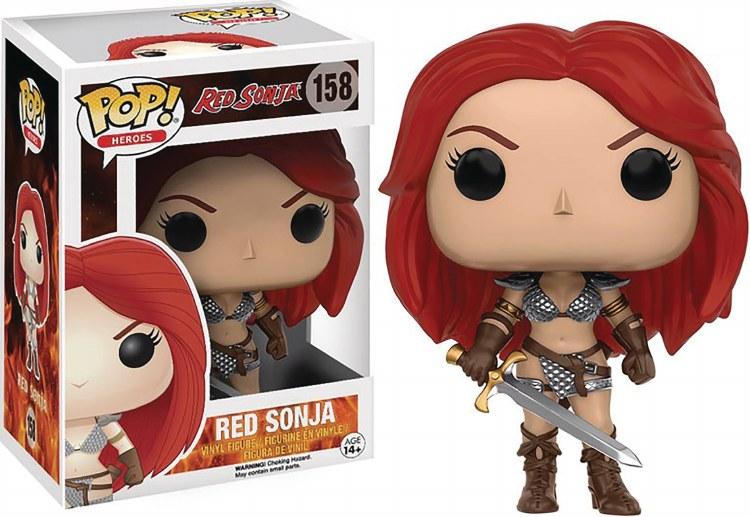 Pop Red Sonja Vinyl Figure Box Damage