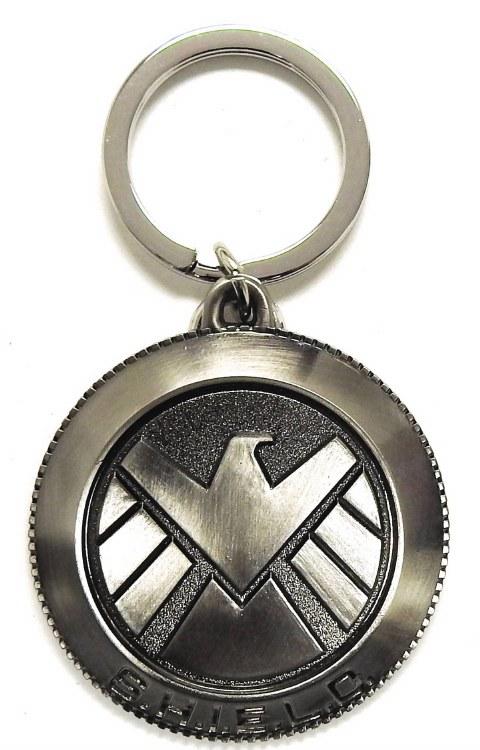 Avengers Shield Logo Pewter Keyring