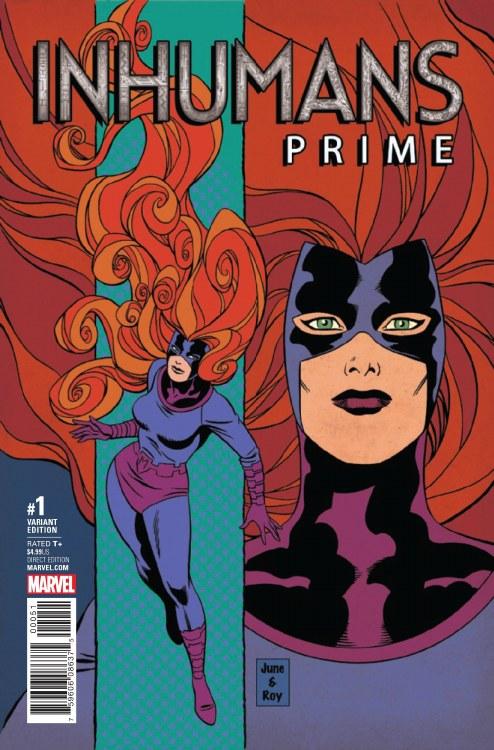 Inhumans Prime #1 Brigman Classic Var