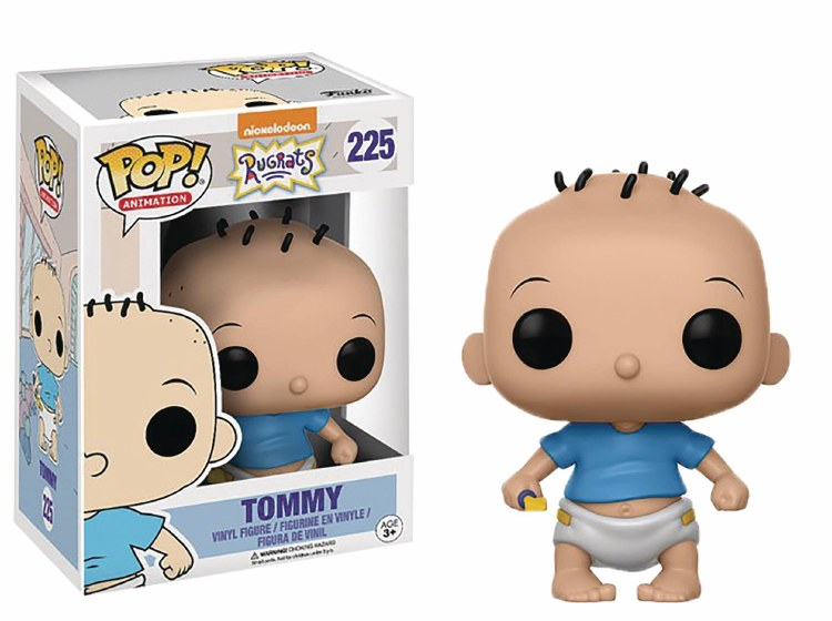 Pop Nick Tv Rugrats Tommy Pickles Vinyl Figure Box Damage