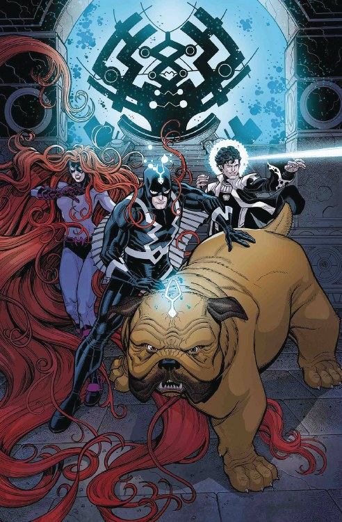Inhumans Once and Future Kings #1 (of 5)