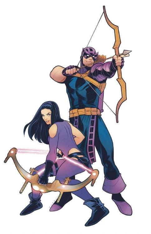 Generations Hawkeye & Hawkeye #1 Hetrick Variant