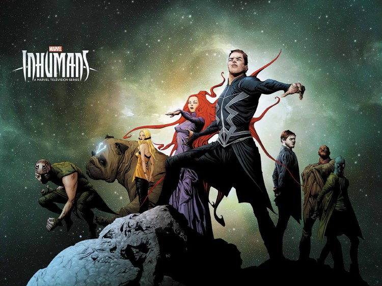 Inhumans Judgmenht Day #1 (of 1) Jae Lee Wraparound Tv Var
