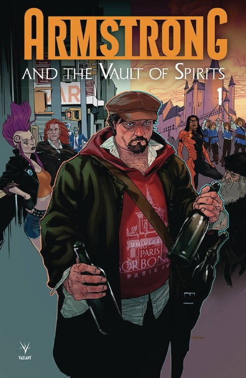 Armstrong & the Vault of Spirits #1 Cvr A Andrasofszky
