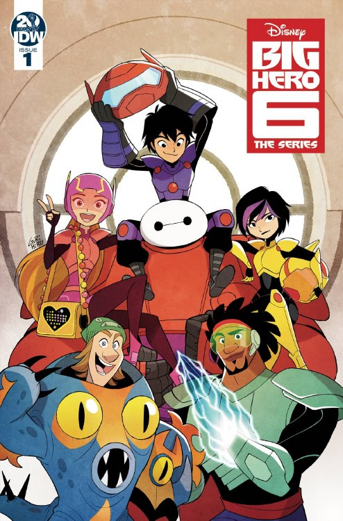 Big Hero 6 The Series #1 Cvr A Gurihiru