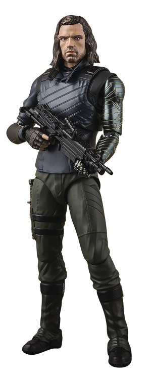 Avengers Infinity War Bucky W/ Effect S.h. Figuarts Af