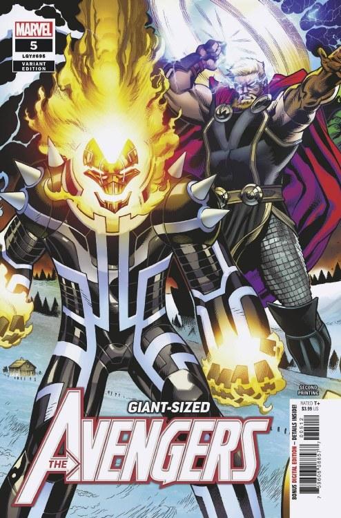 Avengers #5 2nd Ptg Medina Var