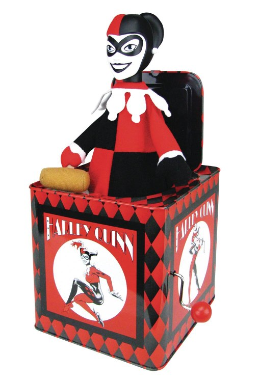 Batman Harley Quinn Jack In the Box
