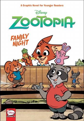 Disney Zootopia Family Night Yr HC