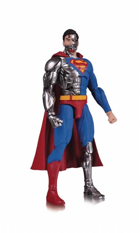 DC Essentials Cyborg Superman Action Figure