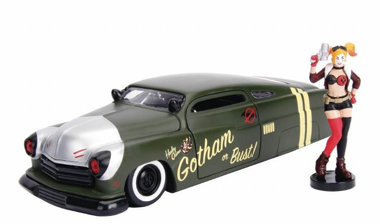 DC Bombshells 51 Mercury w/ Harley Quinn 1/24 Vehicle