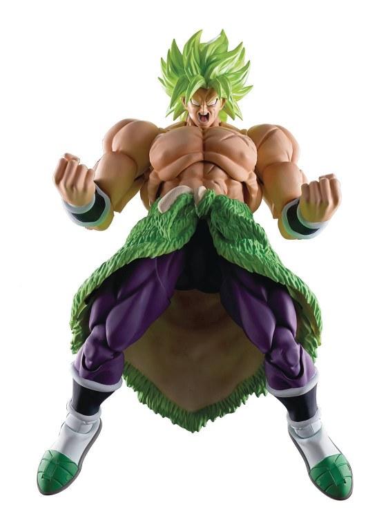 Dragonball Super Broly Super Saiyan Broly Full Power S.h.figuarts Action Figure