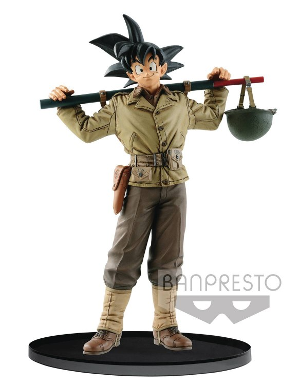 Dragonball Z Banpresto World Colosseum V4 Son Goku Figure
