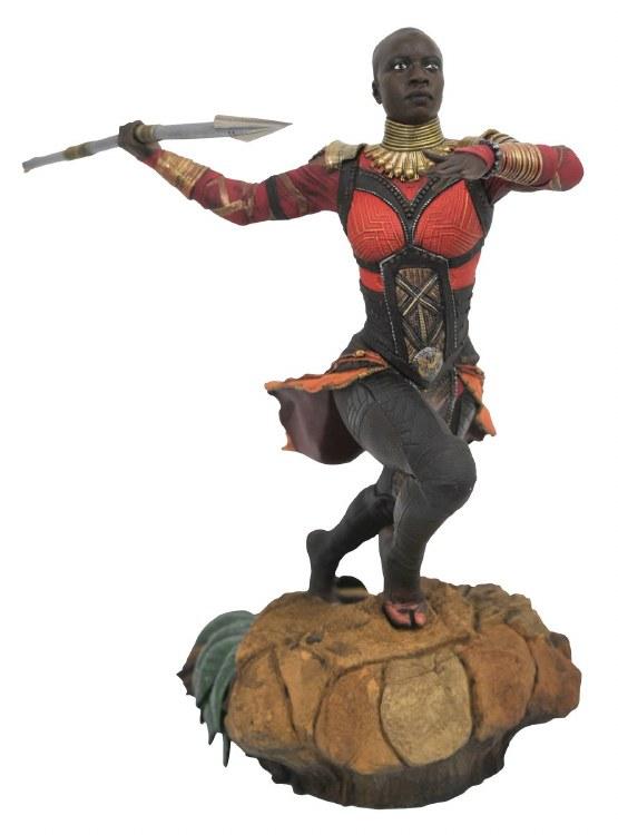 Marvel Gallery Black Panther Movie Okoye Pvc Figure