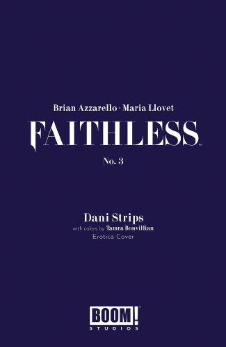 Faithless #3 (of 5) Cvr B Erotica Strips Var