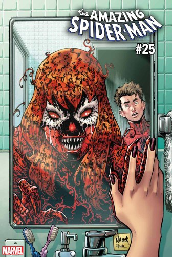 Amazing Spider-Man #25 Nauck Carnage-Ized Var
