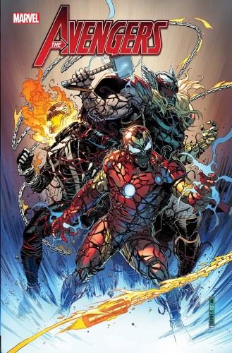 Avengers #21 Cheung Carnage-Ized Var