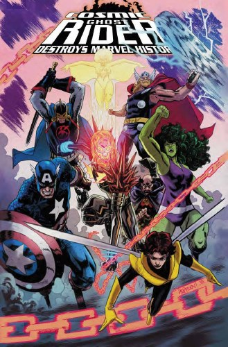 Cosmic Ghost Rider Destroys Marvel History #5 (of 6) Hepburn Var
