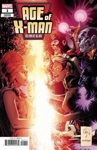 Age of X-Man Omega #1 Portacio Var