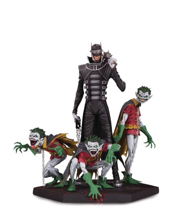 Dark Nights Metal Batman Who Laughs & Robins Deluxe Statue