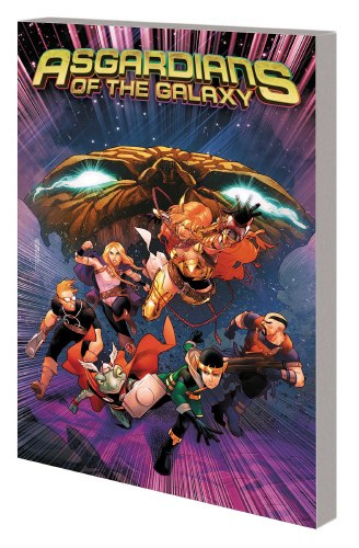 Asgardians of the Galaxy TP VOL 02 War of the Realms