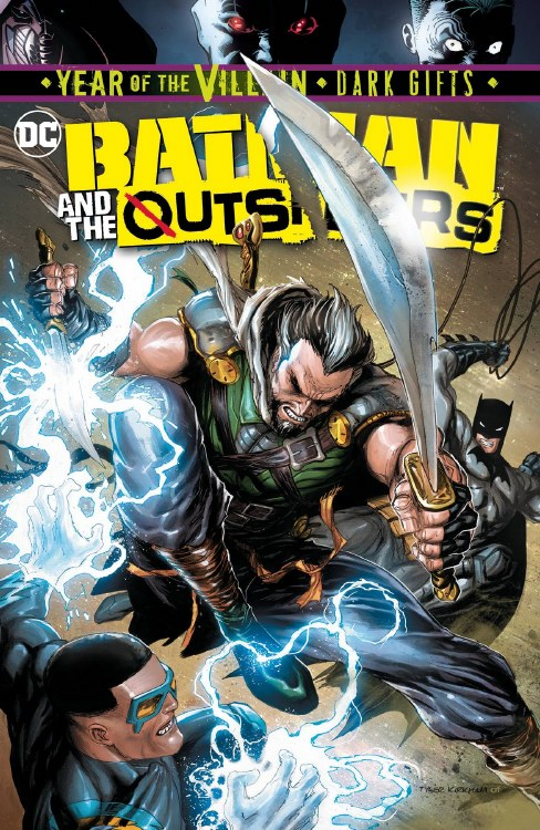 Batman and the Outsiders #4 Yotv Dark Gifts