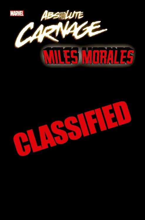 Absolute Carnage Miles Morales #1 (of 3) Garron Young Guns Var
