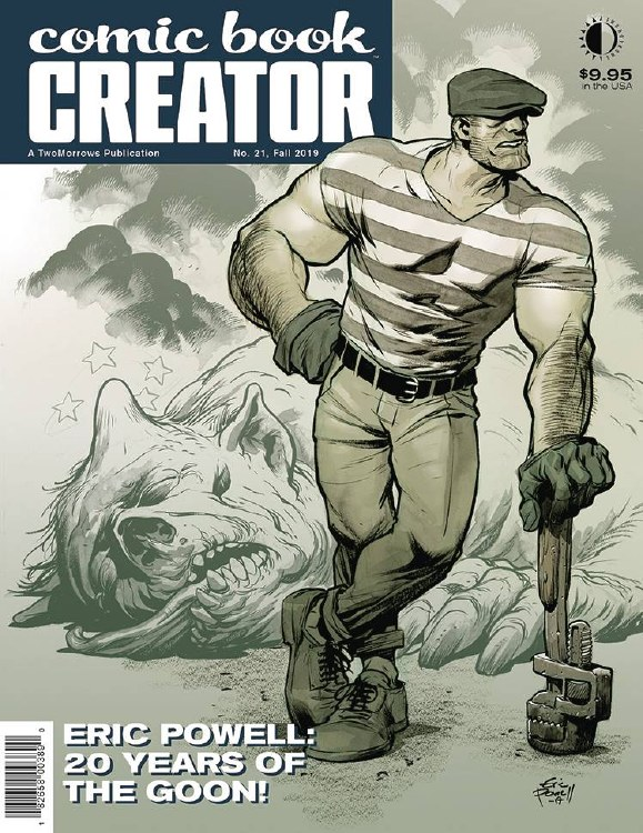 Comic Book Creator #21 (C: 0-1