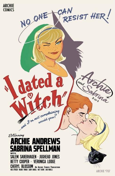 Archie #707 (Archie & Sabrina Pt 2) Cvr C Jarrell