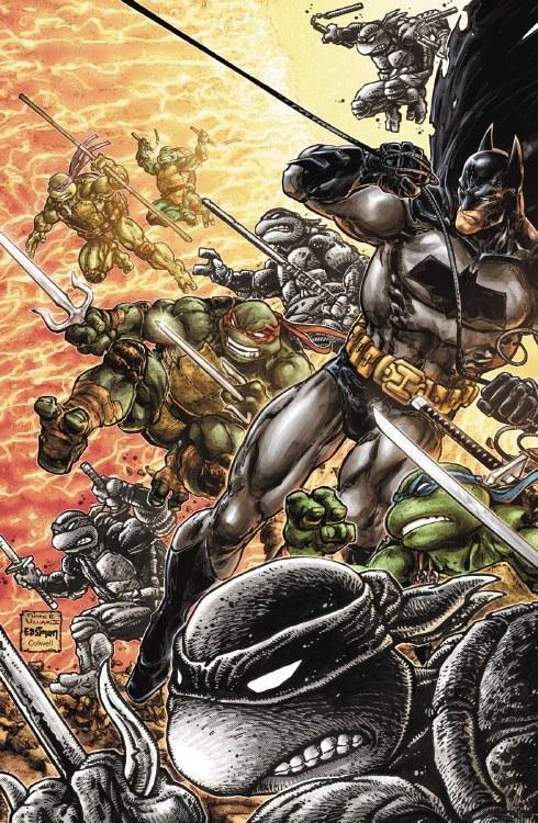 Batman Teenage Mutant Ninja Turtles III #5 (of 6) Var Ed