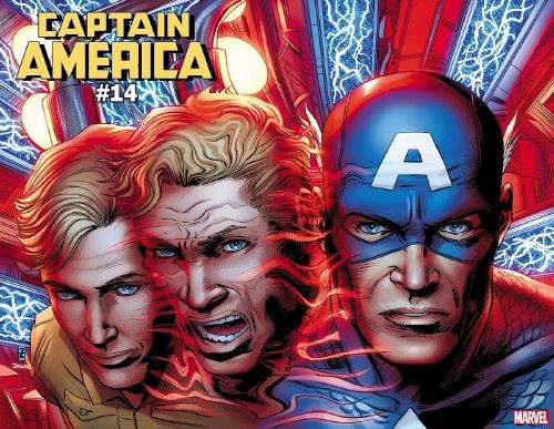 Captain America #14 Zircher Immortal Wraparound Var