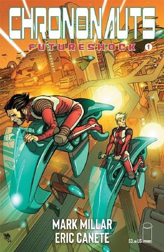 Chrononauts Futureshock #1 (of 4) Cvr A Ferry