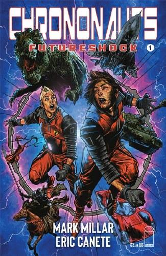 Chrononauts Futureshock #1 (of 4) Cvr C Charest