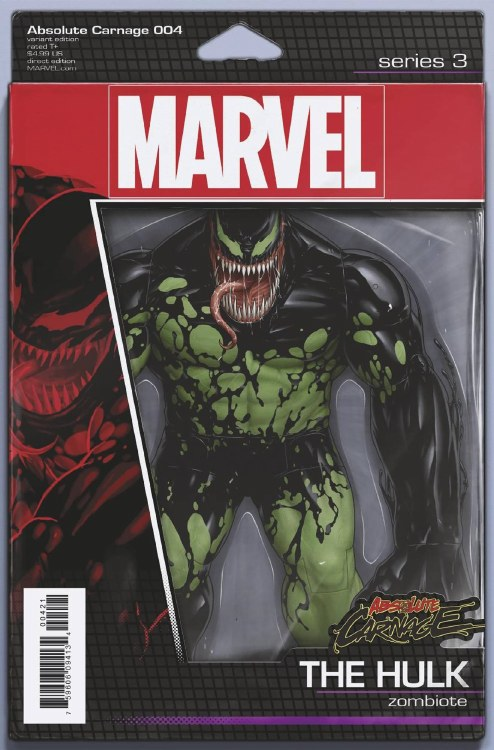 Absolute Carnage #4 (of 5) Christopher Action Figure Var