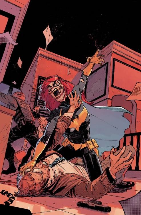 Batgirl #40 Var Ed Yotv