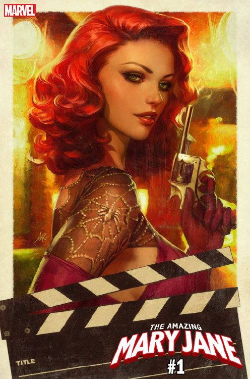 Amazing Mary Jane #1 Artgerm V