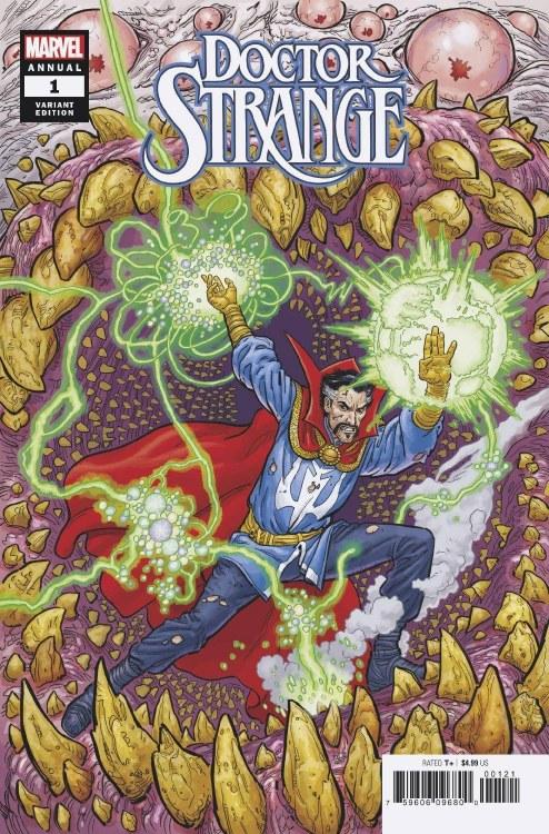 Doctor Strange Annual #1 Skroce Var