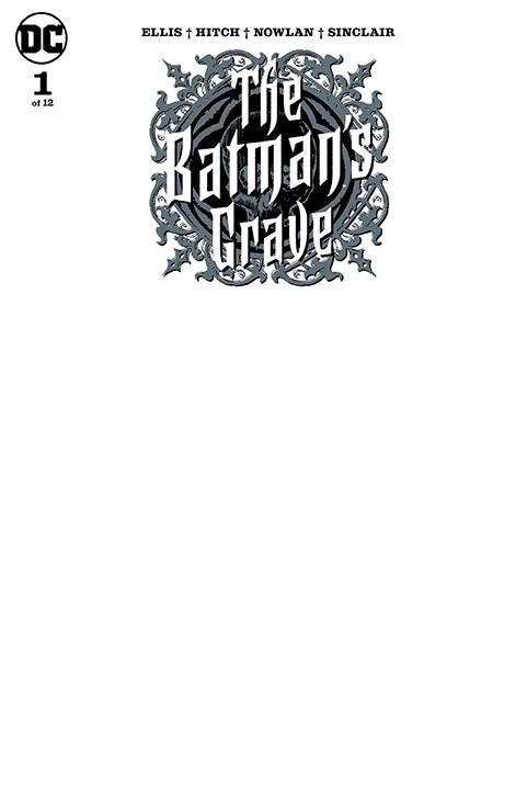 Batmans Grave #1 (of 12) Blank Var
